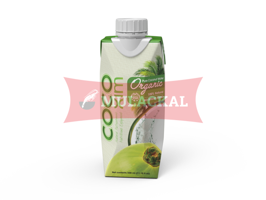 COCOXIM Organic Coconut Water 100% Natural 330ml