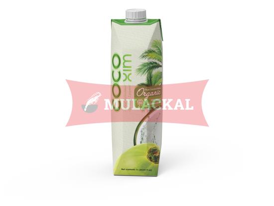 COCOXIM Organic Coconut Water 100% Natural 1L