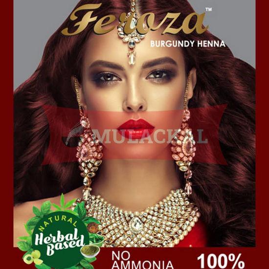 FEROZA Henna Burgundy Color 60g