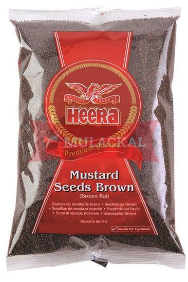 HEERA Brown Mustard Seeds 400g