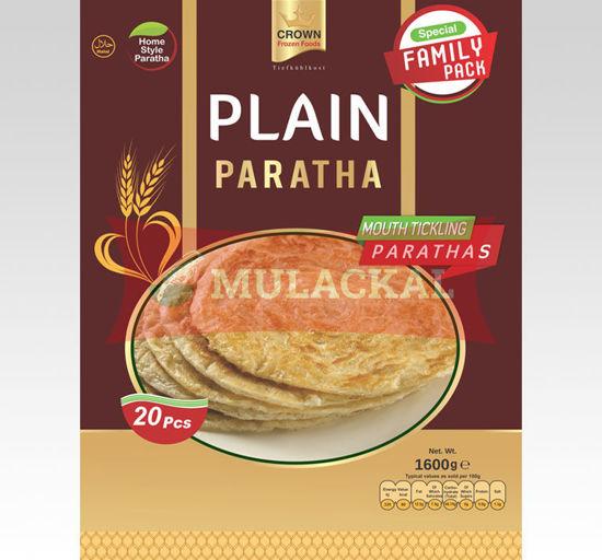 CROWN PLAIN PARATHA FAMILY PACK (20 Pc – 1.6Kg)