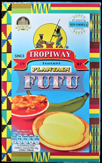 TROPIWAY Fufu Flour(Plantain) 24x680g