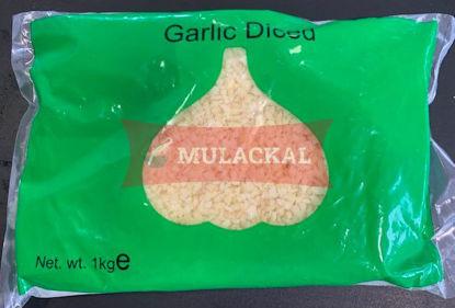 MULACKAL Garlic sliced frozen 1kg