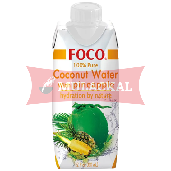 Picture of FOCO Coconut Water with Pineapple 12x330ml
