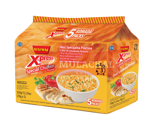 WAI WAI Xpress Special Chicken Flavour Instant Noodle 70g