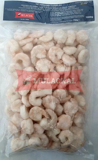 MULACKAL White Tiger Shrimps PD 41/50 1kg