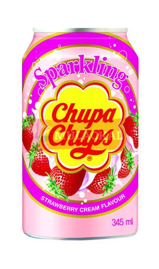 CHUPA CHUPS Soda Strawberry Cream 345ml