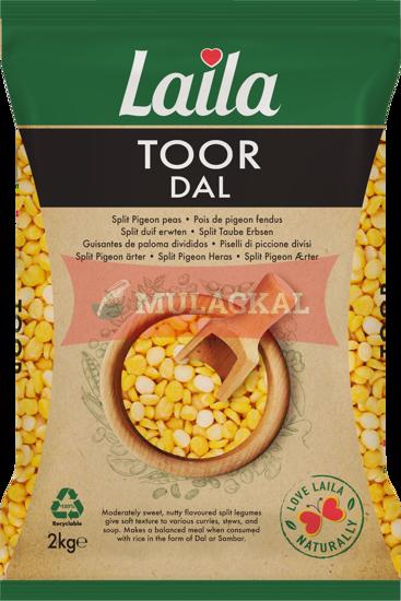 LAILA Toor Dal 2kg