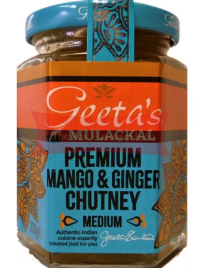 GEETAS Mango & Ginger Chutney 6x230g