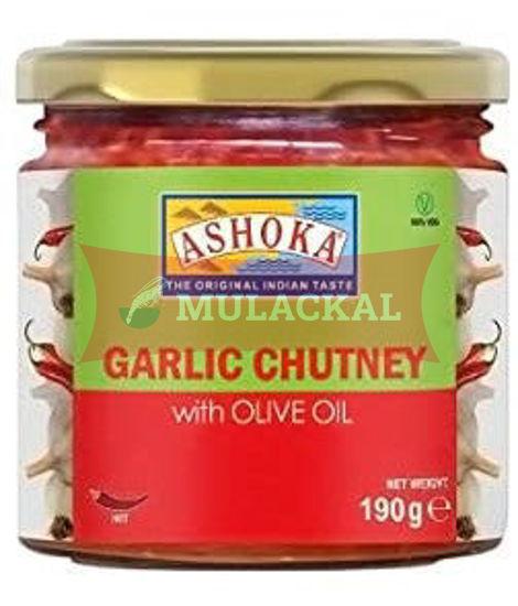 ASHOKA Garlic Chutney 6x190g
